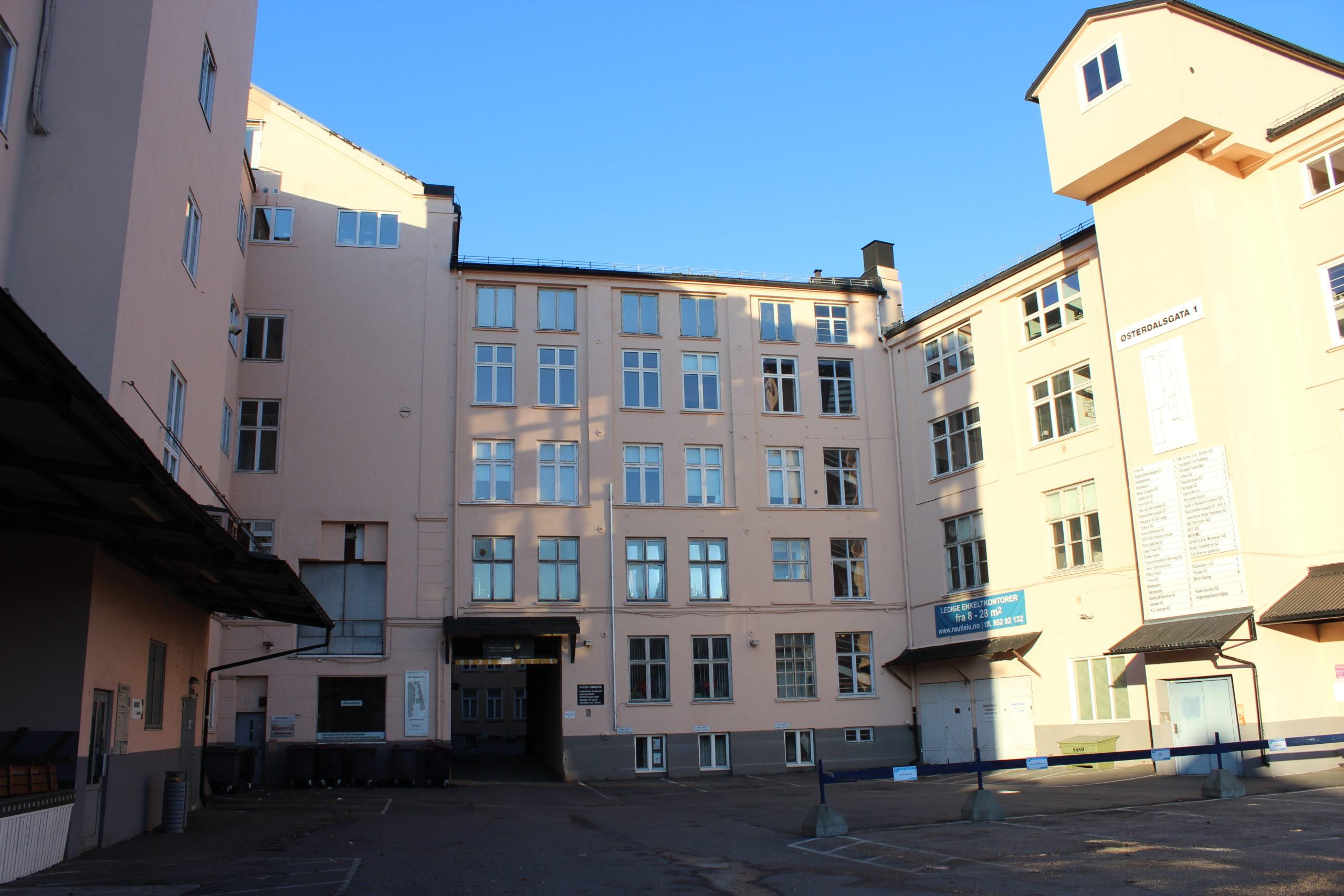 Østerdalsgata 1 i dag